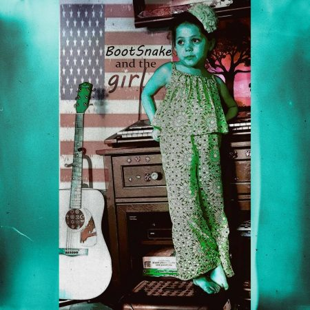 Bootsnake And The Girl - eponymous LP - artwork